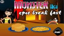 Monster High Epic Breakfast - Monster High Games For Kids