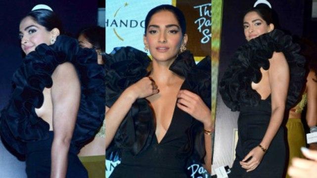 Bollywood Actresses Sonam Kapoor Hot Embrassing Sideboob Exposed  Hottest Sonam Kapoor Ever | Sonam Kapoor Sexiest Avtar