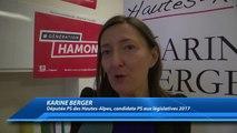 D!CI TV : Hautes-Alpes : La députée Karine Berger lance sa campagne électorale 2017