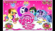 Мой Маленький Пони Зимняя Мода Мой Маленький Пони Видео Игры Для Детей