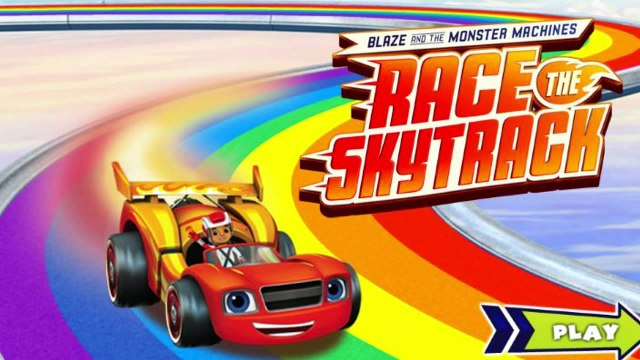New Game! - Blaze Race The Skytrack - Blaze and the Monster Machines - Nick Jr