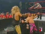 WWE Raw 2003 - HBK & Jeff Hardy vs Y2J & Christian