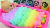 Поделки, как сделать ребенка цвета Кукла пузырь пузырь удивить Ванна время игрушки учим цвета