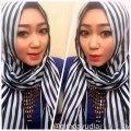 Cara Memakai Jilbab Pashmina Simple Look Tanpa Jarum l Trend Baru Hijab 2016