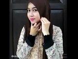 Hijab Tutorial   Cara memakai Jilbab Pashmina Wajah Bulat