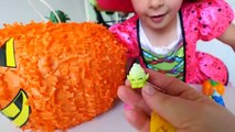 SORPRESA de HALLOWEEN CALABAZA JUEGO de los Niños Juguetes Sorpresa de Halloween Dulces Gomosos Booger Ryan ToysR