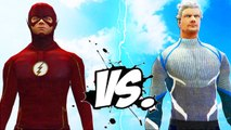 The Flash vs Quicksilver - Epic Superheroes Battle