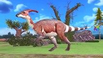 Dinosaurs Cartoons For Children   Learning Dinosaurs Names   Dinosaurs Sounds Tyrannosaurus Rex