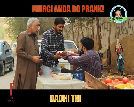 Murgi Anda Do Prank By Nadir Ali In P4 Pakao -