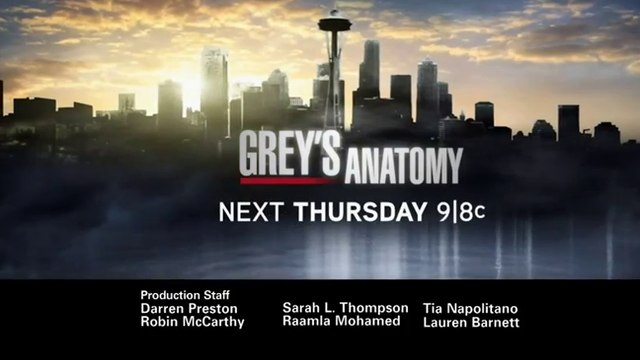 Grey's Anatomy - Promo 8x11