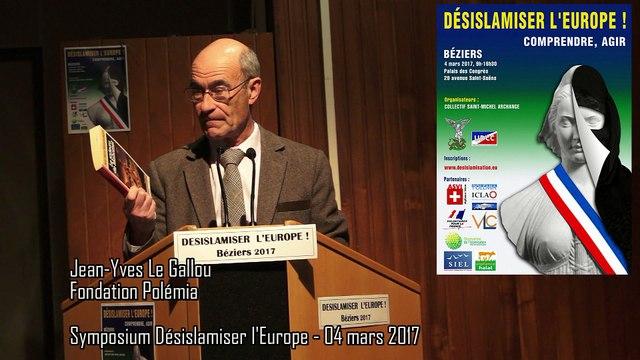 Désislamiser l'Europe- le rôle des médias (JY. Le Gallou)