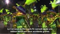 Brésil : le carnaval de Rio 2017, c'est fini !
