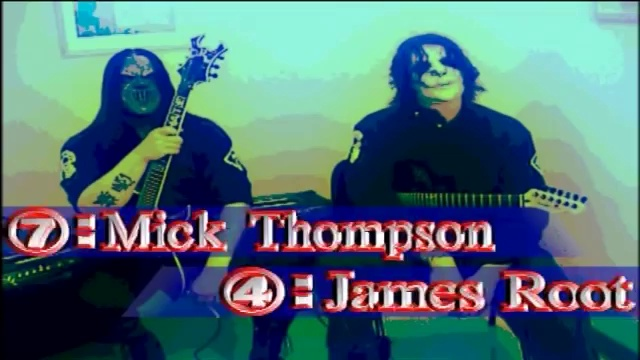 Slipknot Guitar Lesson – Mick Thomson  Jim Root – Young Guitar – August 2004