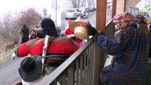 Hautes-Alpes : carnaval sous la neige à Puy-Saint-André