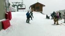 Ma 1ère fois au ski !