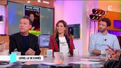 Julien Lepers et Laury Thilleman - C l'hebdo - 04/03/2017