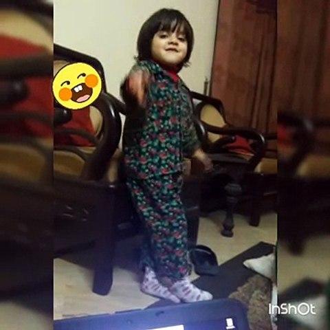 How Baby wishing her own birthday. ....too funy