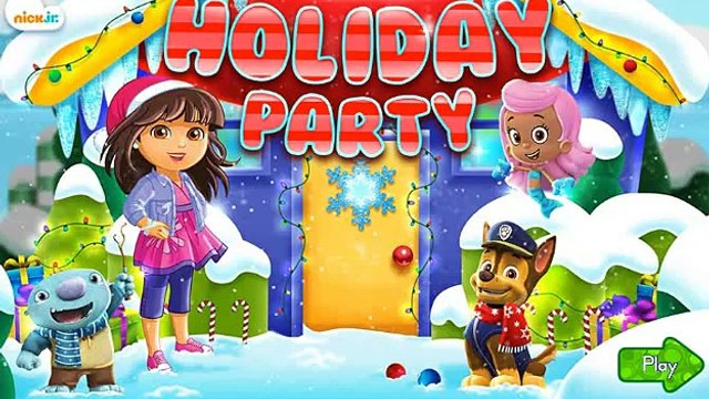 Happy Holidays - Holiday party: Dora and Friends, Paw Patrol, Bubble Guppies