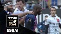 TOP 14 ‐ Essai Djibril CAMARA (SFP) – Paris-Bordeaux-Bègles – J19 – Saison 2016/2017