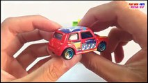 Morris Mini Vs Hino Dutro Truck Tomica Toys Cars For Children Kids Toys Videos HD Collecti