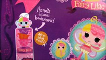 LALALOOPSY Littles Fairy Fern Lala-Oopsies Doll Sew Cute - Surprise Egg and Toy Collector SETC