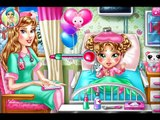 Chelsea Flu Doctor Care Game Video - Baby Care Games - Baby At Doctor
