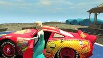 Spiderman y Congelado Elsa Ruedas en el Autobús Rimas Un SuperheroSchool