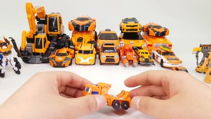 Orange Color Transformers RID Prime Beast Hunters Carbot Tobot Vehicle Transformation Robot Car  toy