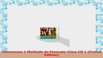 READ  Connexions 1 Methode de Francais Class CD 1 French Edition