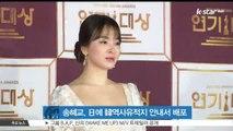 송혜교, 3.1절 맞아 日에 한국 역사 유적지 안내서 배포