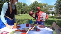 Frozen Elsa Spiderman Babies Kept into Washing Machine Crying New Episodes! Superheroes in