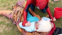 Замороженные elsa теряет ее носом ж/ Человек-Паук Человек-паук розовый Джокер Халк плохой мальчик Джокер девушка Вечерять