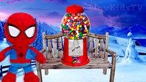 Congelados Elsa GLOBO BROMA de Spiderman es Divertida Broma de Superhéroes de la Diversión