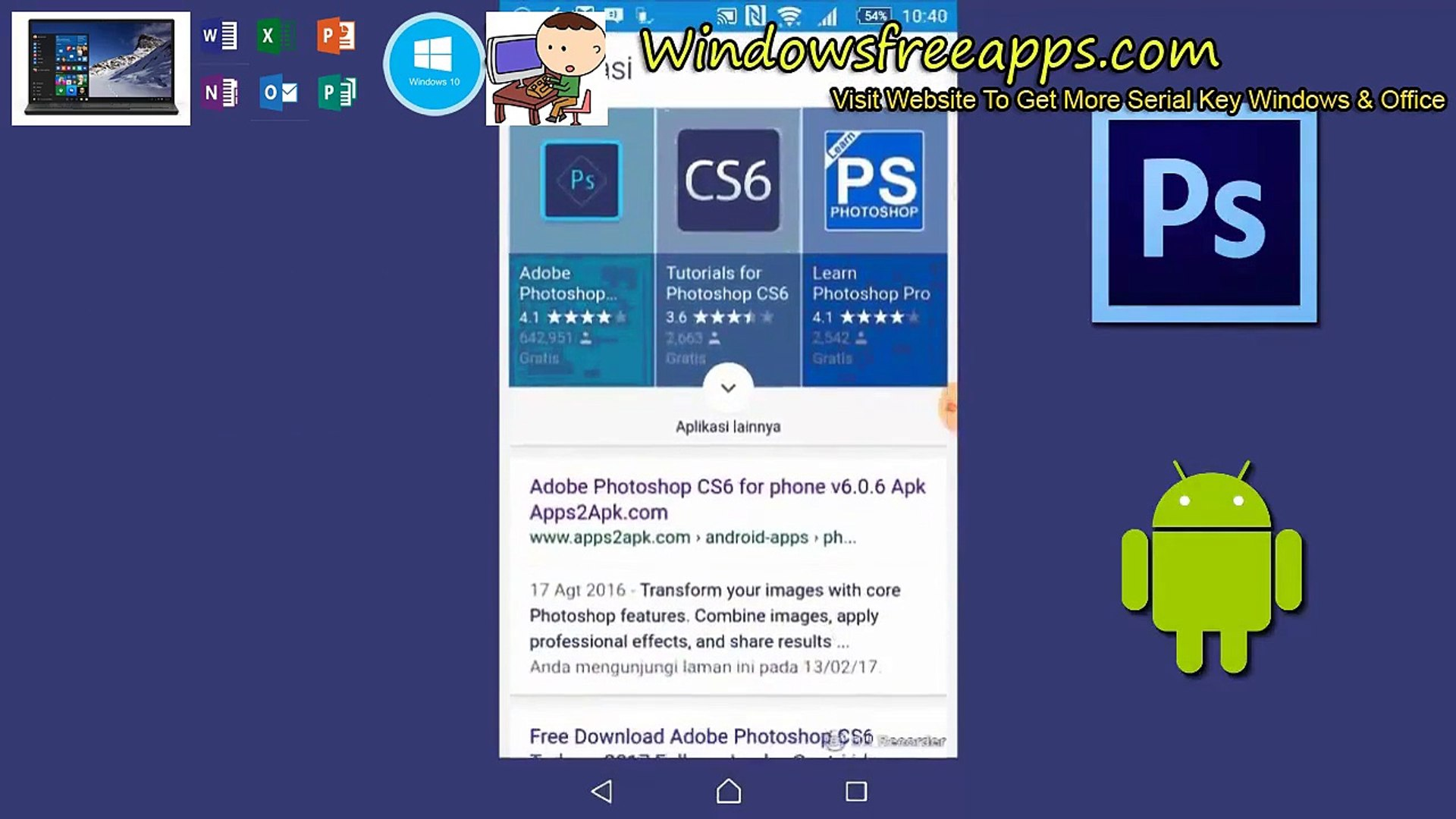 How To Download Adobe Photoshop CS6 for Android Apk