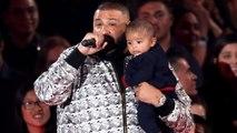 DJ Khaled Brings His Infant Son Asahd to Introduce Ed Sheeran at iHeartRadio Awards