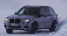 VÍDEO: El BMW X7 se pone en forma sobre la nieve