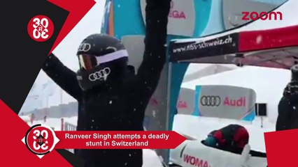 Ranveer Attempts A Deadly Stunt In Switzerland, Kareena To Keep Mum On Taimur Name Controversy