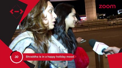Sharddha Is In Happy Holiday Mood, Alia Wants To Keep A Special Screening Of Her Film For Sidharth