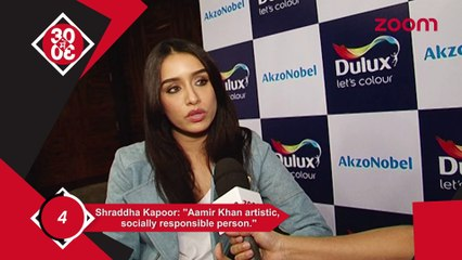 Shraddha Kapoor Praises Aamir Khan, Sonam & Harshvardhan Spotted At International Airport