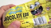 2 Спанч Боб и Звездные войны Киндер сюрприз шоколадные яйца Распаковка kidstvsongs