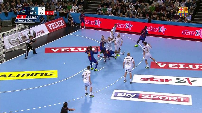 [HIGHLIGHTS] HANDBOL (Champions League): Kiel - FC Barcelona Lassa (27-27)