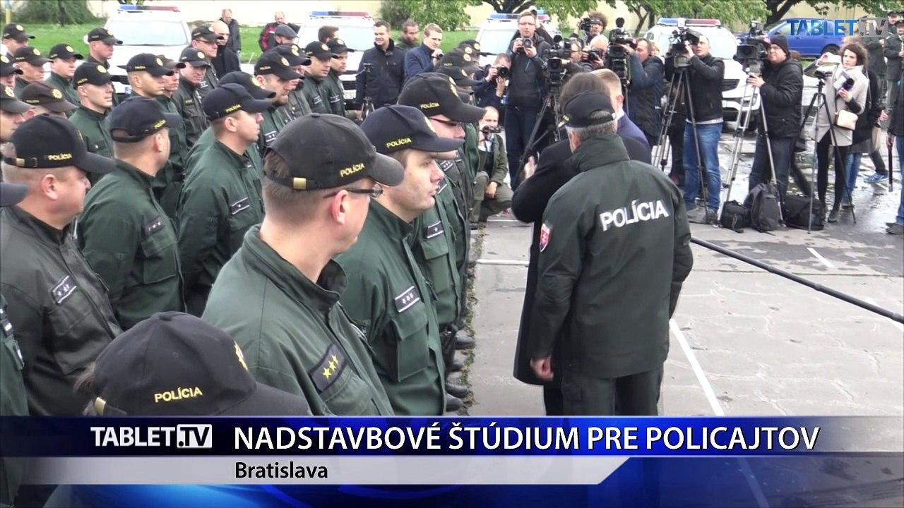 Rezort vnútra pripravil nadstavbové štúdium pre budúcich policajtov