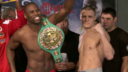 Weigh-In Recap: Stevenson vs. Sukhotskiy - SHOWTIME BOXING