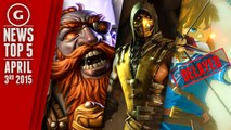All Mortal Kombat X Characters Revealed & Vote for the Next Super Smash Bros Character - GS News Top 5