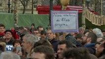 Fillon au Trocadéro, ils manifestent dans le même temps contre la corruption