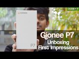 Gionee P7 Unboxing & First Impressions - GIZBOT