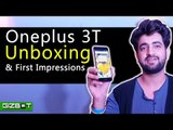 Oneplus 3T Unboxing & First Impressions - GIZBOT