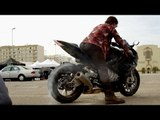 Sur le tournage de MISSION IMPOSSIBLE 5  - Cascades à Moto