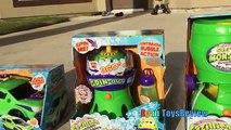 Несметное Пузырь Машина Пузырь Муссонный Авто На Семью, Весело Водяной Пистолет Борьба Игрушки Для Детей Райан ToysReview