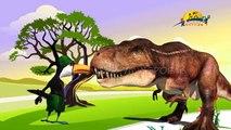 Dinosarus семья палец рифмы | дети детские стишки | детские онлайн новая анимация песня